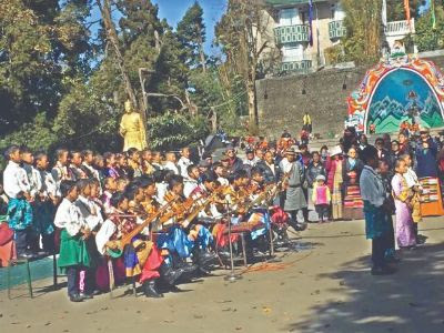 Darjeeling Tibetan community celebrates 'Thank you India Year'