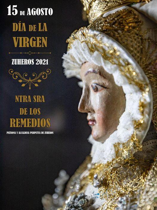 Cartel de la Patrona de Zuheros Santísima Virgen de los Remedios 2021