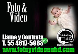 video y fotografia para bautizo en azcapotzalco