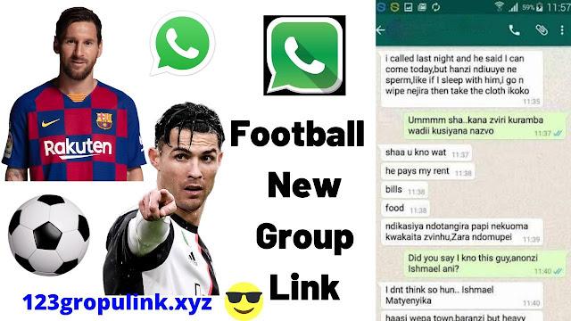 Join 2000+ Football Whatsapp Group Link 2020