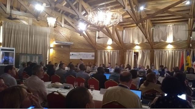 The meeting of the Conference of Parties to the SPAW Protocol in Honduras.