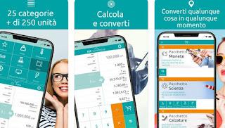 App Convertitore di unità e valute