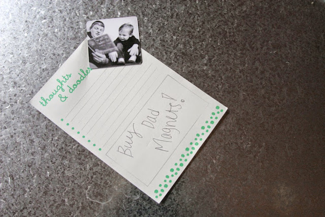 Personalized Photo Magnets // Father's Day Gift {+ 50 FREE 4x6 Prints} by Craftivity Designs