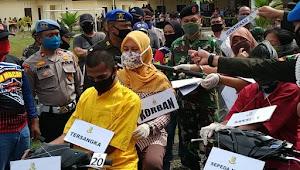 Anggota TNI di Tapteng Bunuh Istri Dibantu Selingkuhan