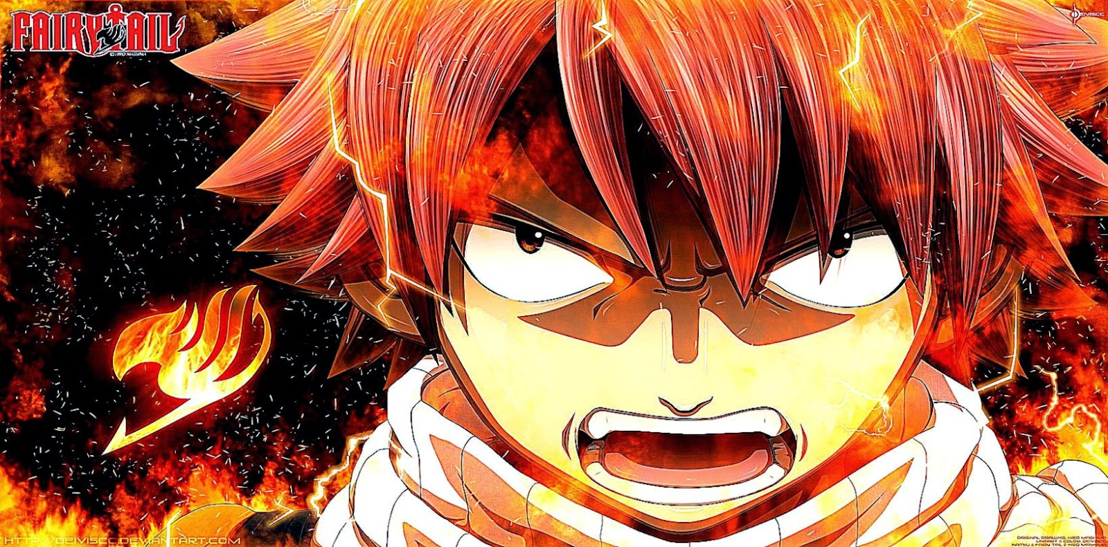 Dragon Slayers Ready! Zirconis' Powers – Fairy Tail 330 ...  Natsu Dragneel Angry