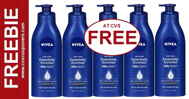 FREE Nivea Body Lotion at CVS 3/15-3/21