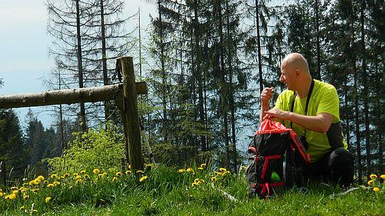 Przełęcz pod Żeleźnicą [fot. Anna Balasa].