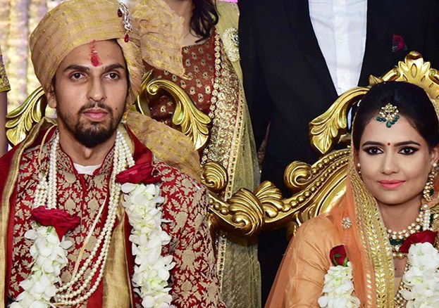 Cricketer Ishant Sharma Marriage Photos