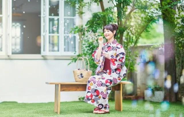 Disney Japón, pone a la venta Kimonos y Yakatas inspirados en sus personajes.