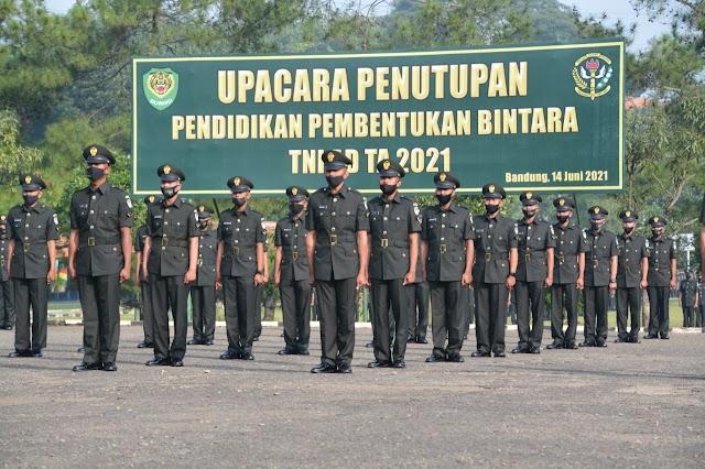Pangdam III/Siliwangi Lantik 597 Prajurit Abit Diktukba TNI AD TA. 2021 Menjadi Sersan Dua