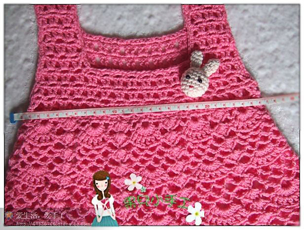 crochet children's sundress free pattern chart