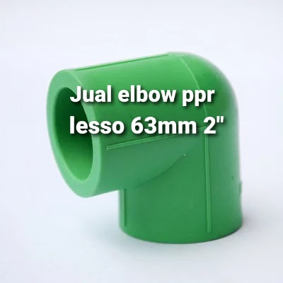 Terjual pipa elbow ppr lesso online
