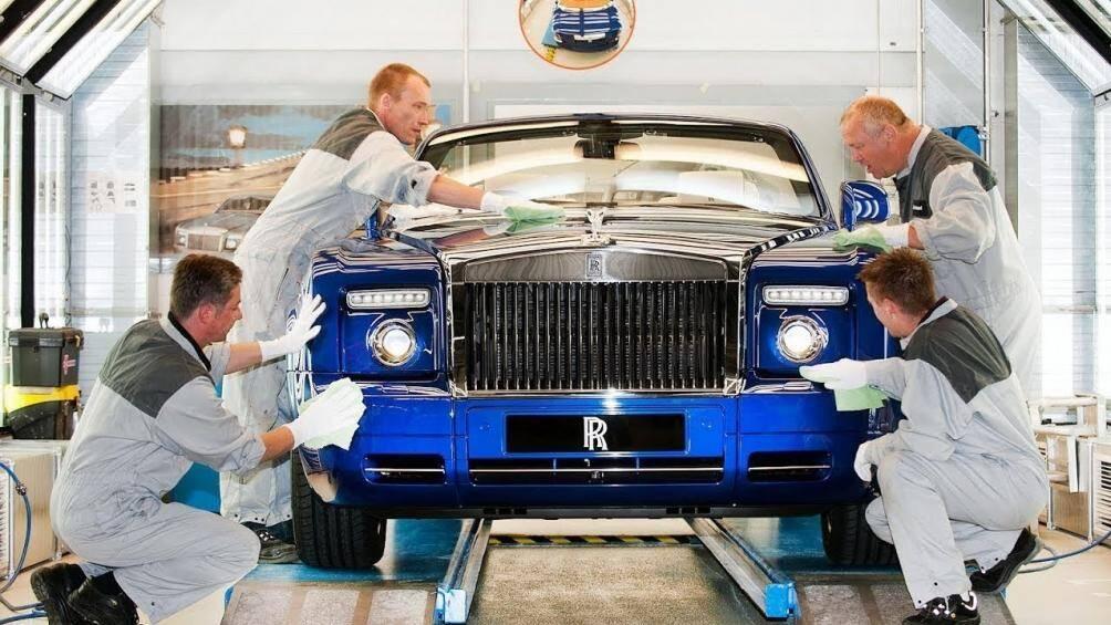 Quy trình sản xuất Rolls-Royce với 8 điều đặc biệt