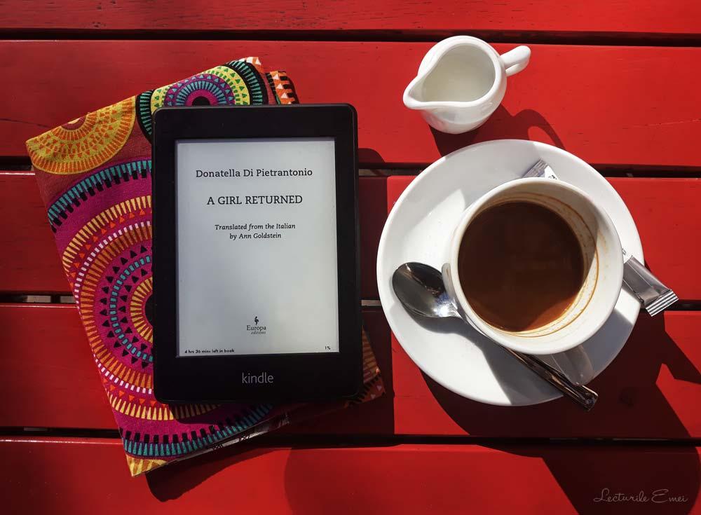carte Donatella Di Pietrantonio cafea