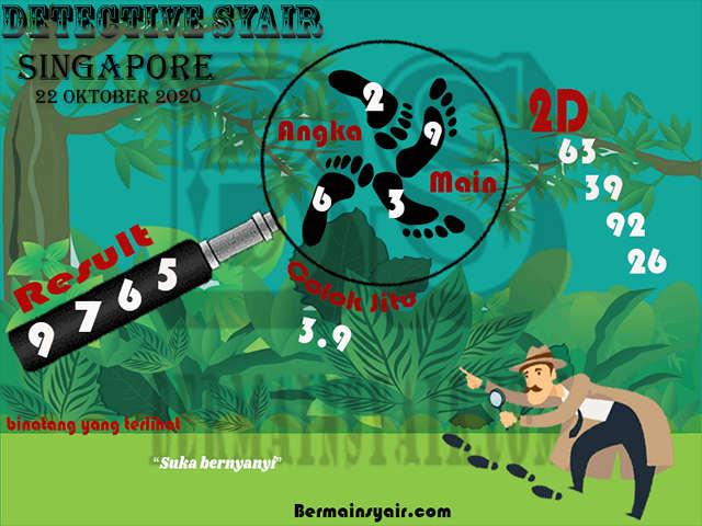 Kode syair Singapore Kamis 22 Oktober 2020 267