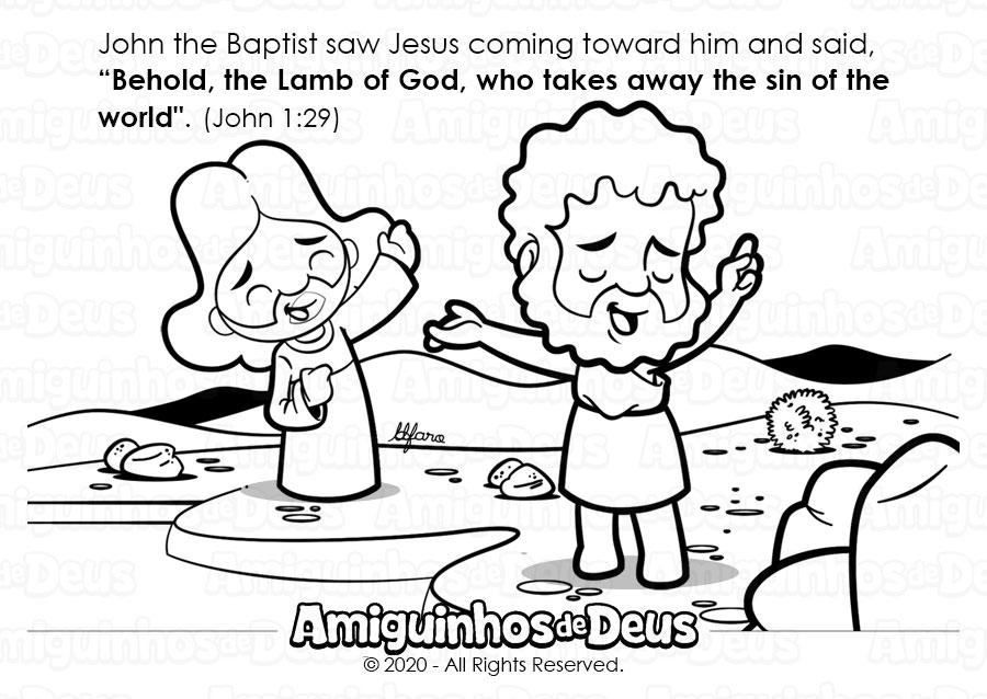 Second Sunday in Ordinary Time coloring page