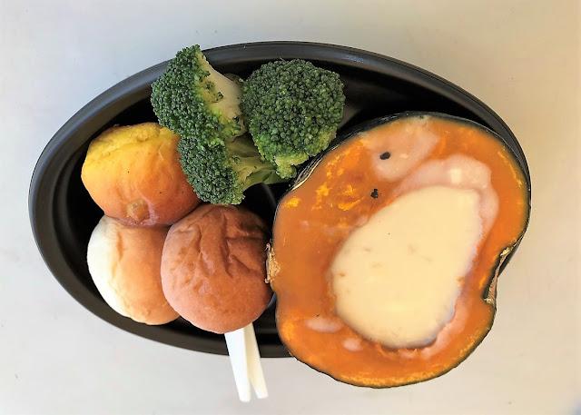 CJ Dining八百屋:まるごとかぼちゃのチーズフォンデュ(画像)