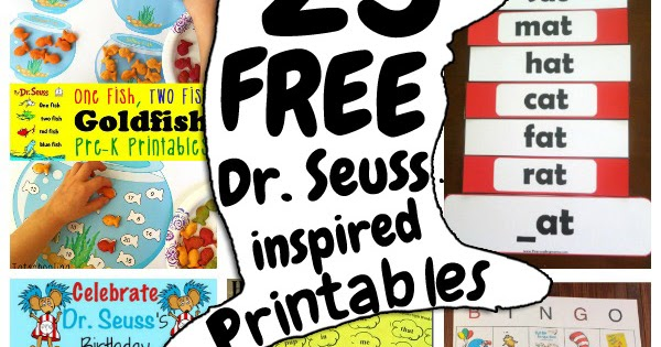 photo about Dr Seuss Letters Printable referred to as 25 No cost Dr. Seuss-influenced Printables for Small children