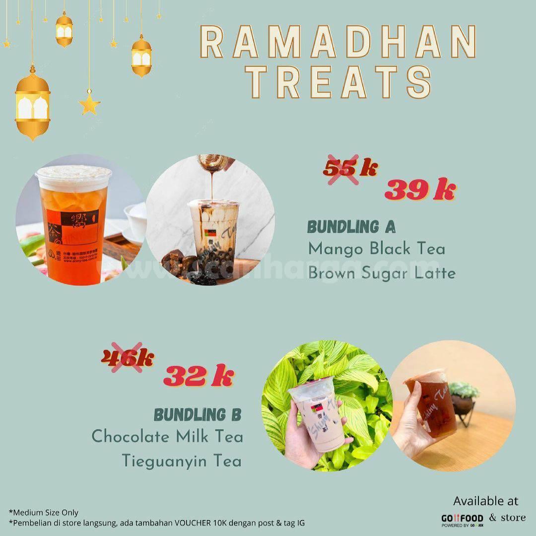 Promo Shiny Tea Ramadhan Treats Bundling harga mulai 32K