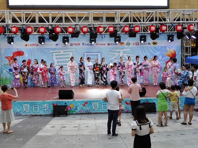 夏日祭りステージ