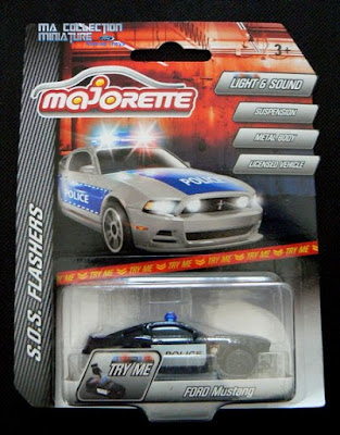 """Majorette, S.O.S. Flashers, Ford Mustang """"Police"""""""