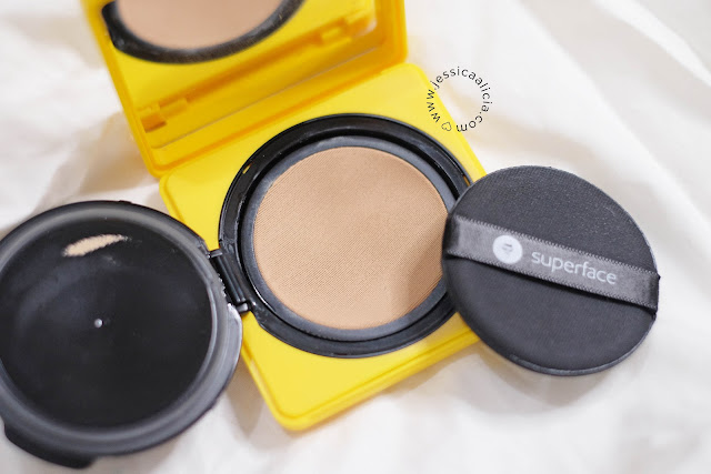 Review : Superface Zoom In Mesh Cushion by Jessica Alicia