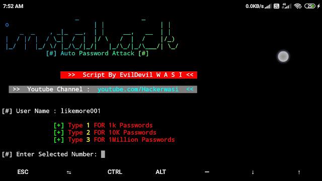 hack the instagram password