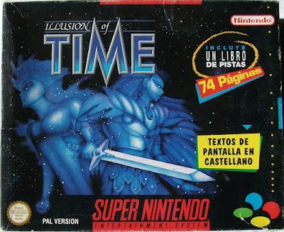 Illusion of Time - Caja package delante