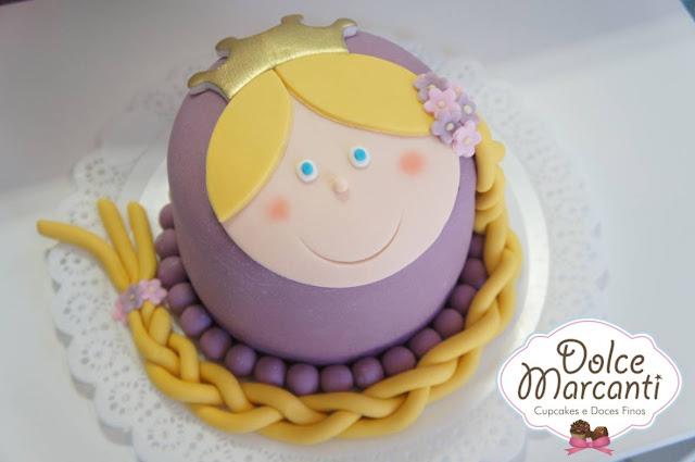 Bolos de Aniversário Rapunzel