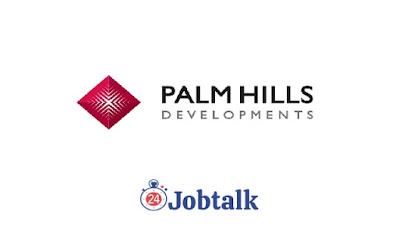 Palm Hills Summer Internship التدريب الصيفي في بالم هيلز للتعمير