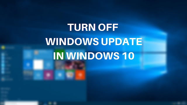 Tắt Windows Update trên Win 10