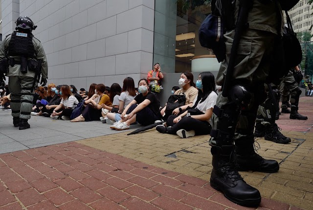 Washington ismét figyelmeztette Kínát: Hongkong elveszítheti nemzetközi pénzügyi szerepét