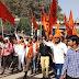 कानपुर - पनकी में रामनवमी महोत्सव पर निकली भव्य शोभा यात्रा