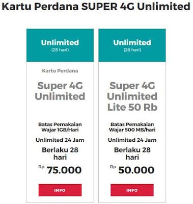 Kartu Perdana Internet Unlimited Smartfren