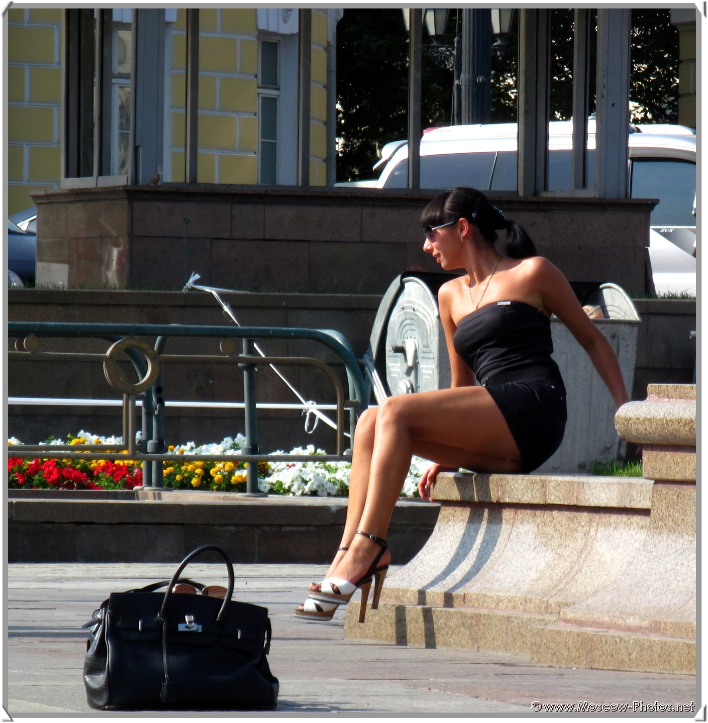 Moscow Girl on the Street