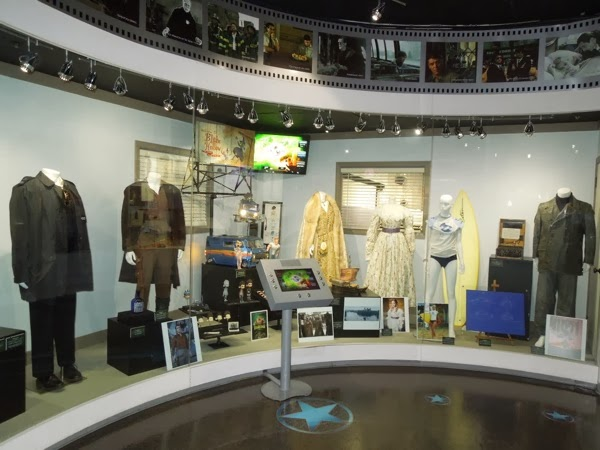 NBC Universal Experience movie costume prop exhibit