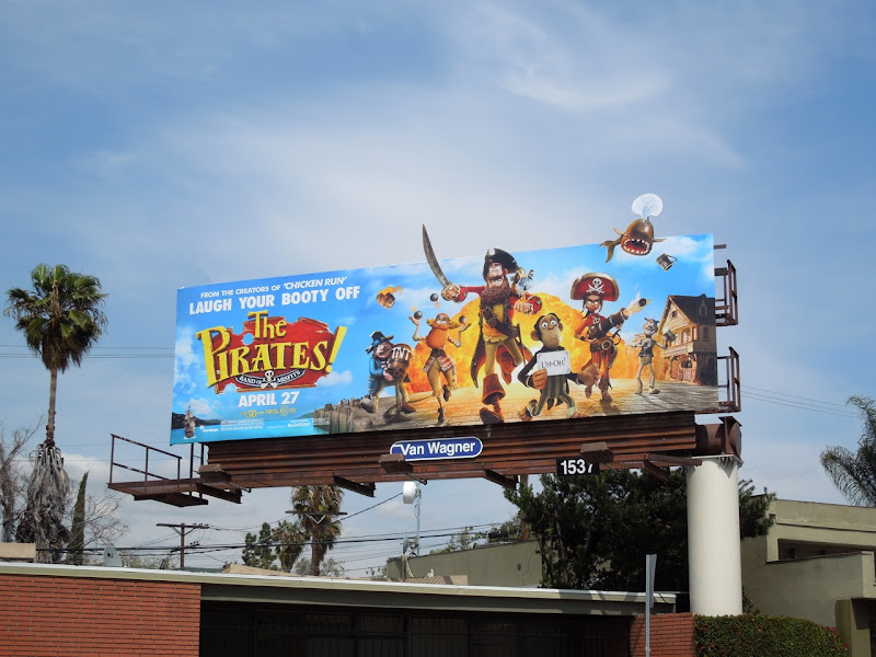 Pirates movie billboard