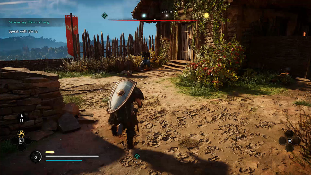How to destroy stone walls and blocked passages in Assassin's Creed Valhalla?