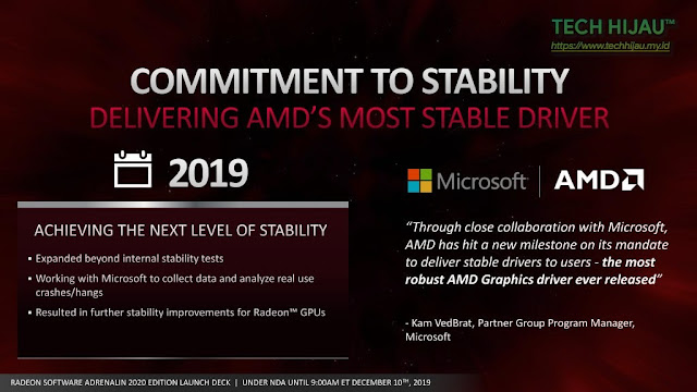 Tech Hijau™ — AMD Radeon Software Adrenalin 2020 Edition - Kata Microsoft (1)