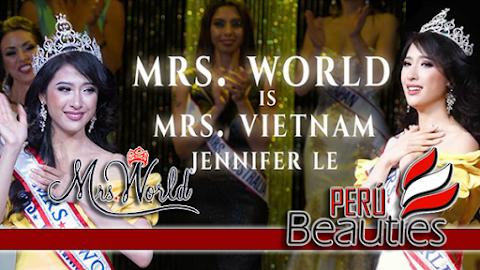 Mrs World 2019 es Vietnam