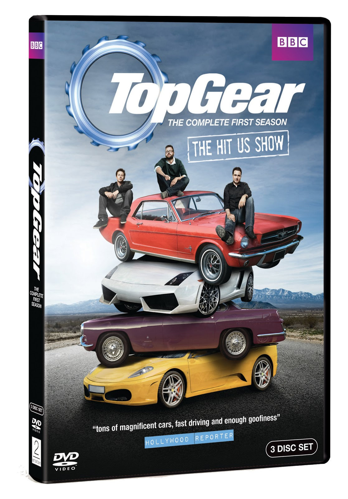 Top Gear: The Complete First Season Giveaway! ~ AngloAddict