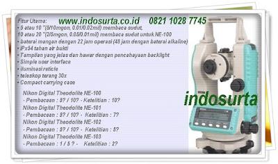 digital-theodolite-nikon Produk PT INDOSURTA