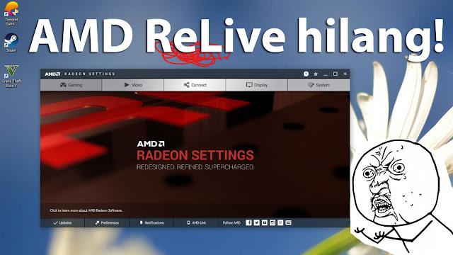 AMD ReLive tidak mucul, pakai cara ini aja! (100% work)