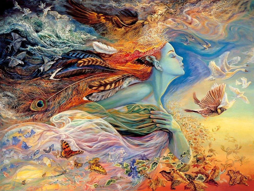 Fantasy Art Painting Josephine Wall For Your