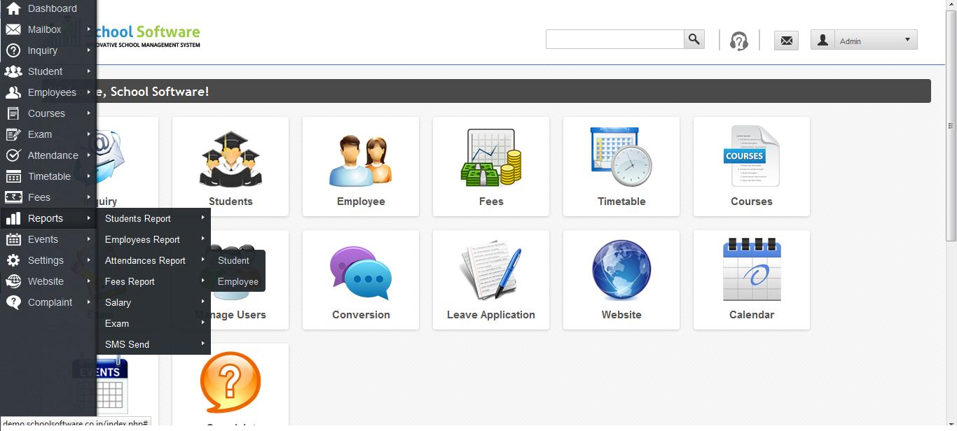 Technology Management Image: Zippro School Management Software