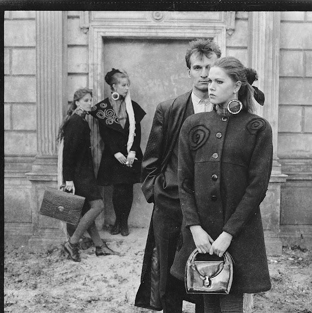 Stils Anita G.B. Loomaas - Maris Subachs und Vineta Groza. 1985 (фото: Maris Bogustovs)