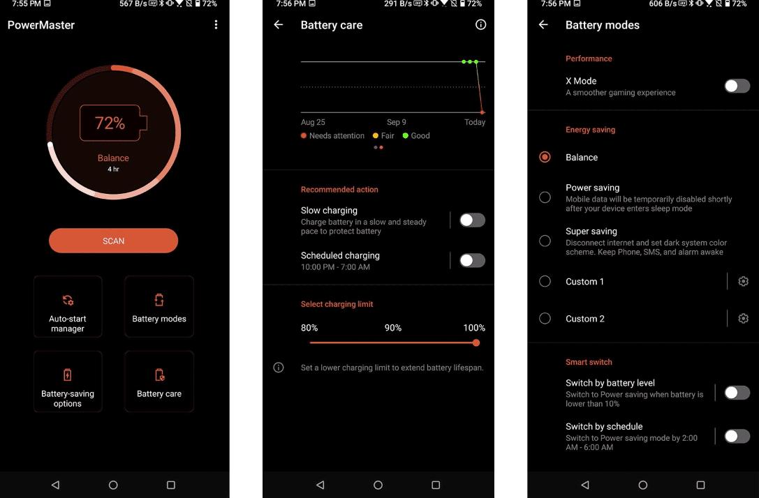 Asus PowerMaster Pada Asus ROG Phone 3