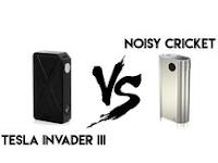 TESLA INVADER III vs NOISY CRICKET V2 di Tahun 2019