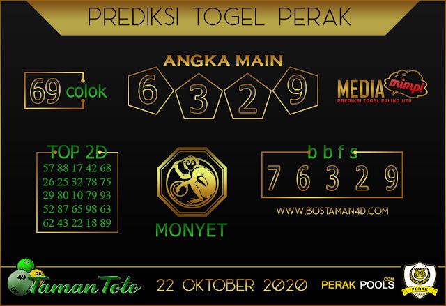 Prediksi Togel PERAK TAMAN TOTO 22 OKTOBER 2020