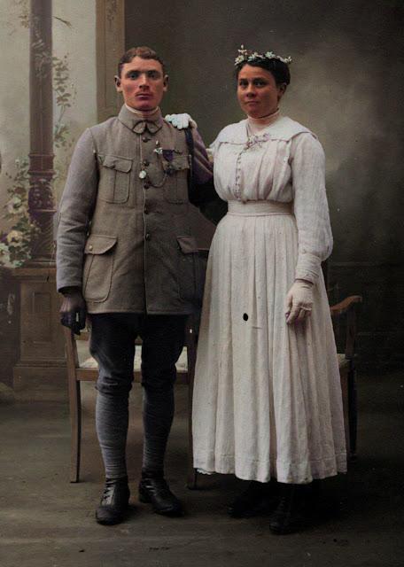 Mariés Première Guerre Mondiale